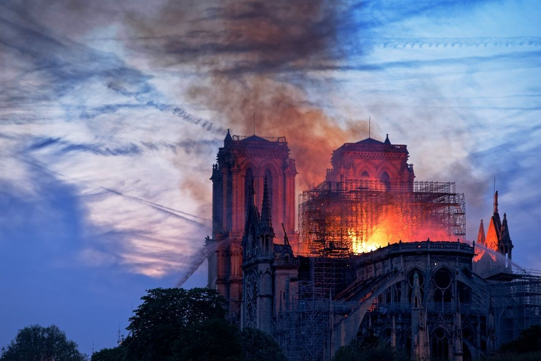 The Notre-Dame Cathedral Fire Isn't a Sign