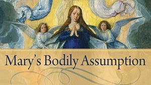 Marys Bodily Assumption Crop