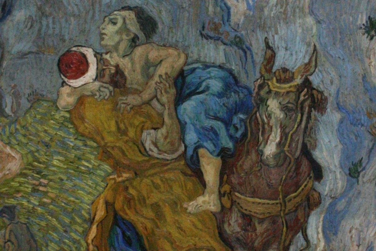 Van Gogh Good Samaritan Crop