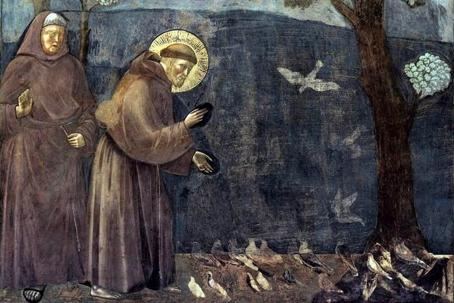 Giotto Legend Of St Francis 15 Sermon To The Birds