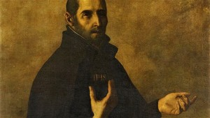 Ignatius Loyola By Francisco Zurbaran
