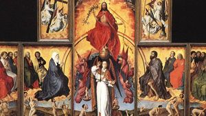 Rogier Van Der Weyden The Last Judgment Polyptych Wga25625
