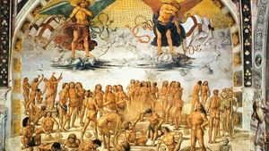 Luca Signorelli Resurrection Of The Flesh Wga21214
