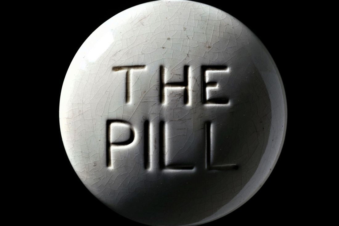 Model Of A Contraceptive Pill Europe C