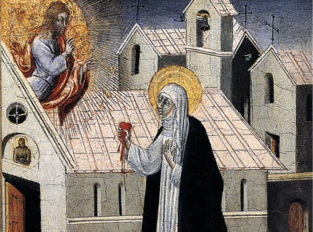 Catherine Of Siena Hart