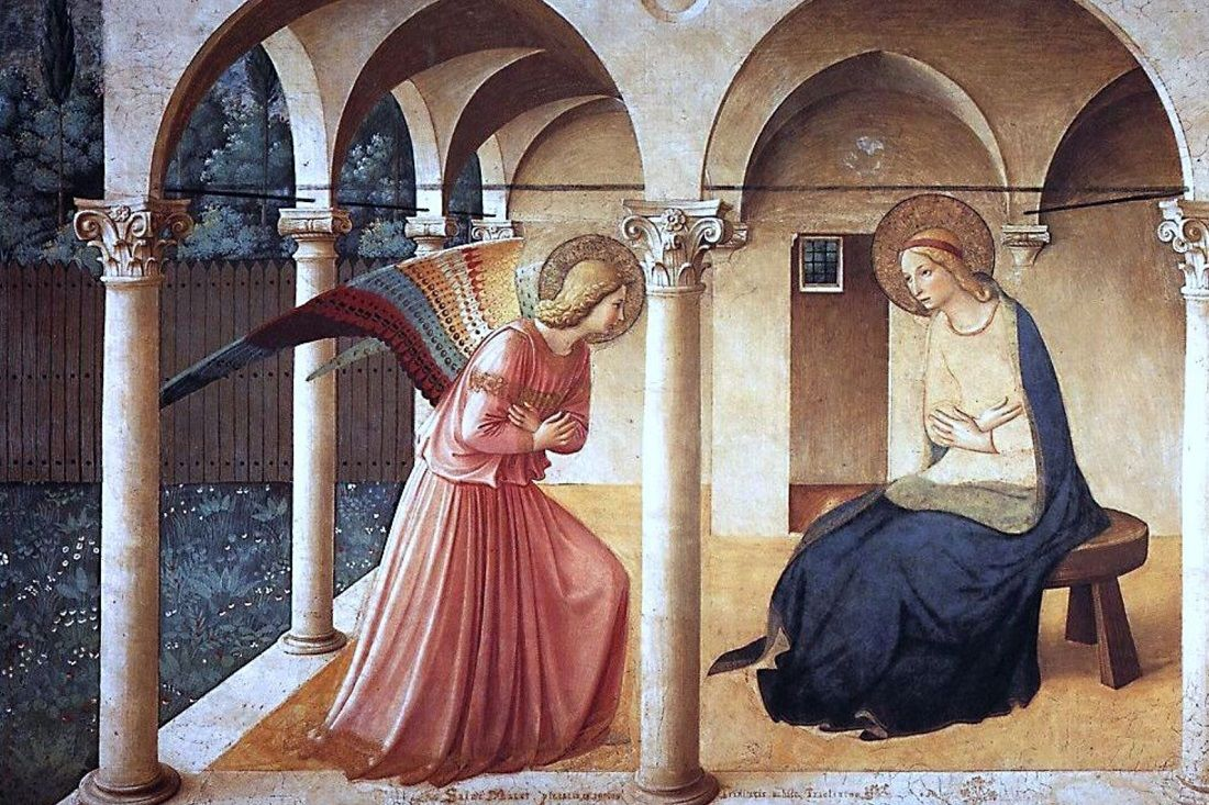Fra Angelico Annunciation San Marco Florence 1