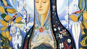 Joseph Stella The Virgin Aka Hildegard Of Bingen