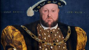 Portrait Of Henry Viii Of England Holbein