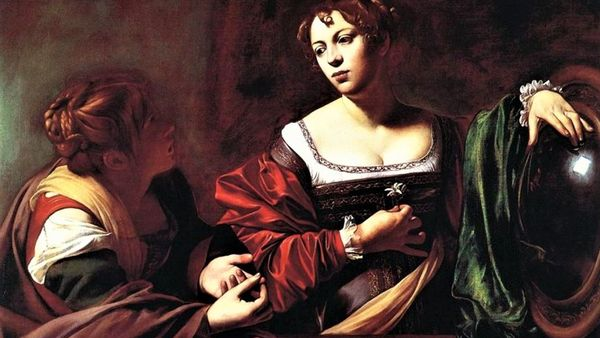 Martha And Mary Caravaggio