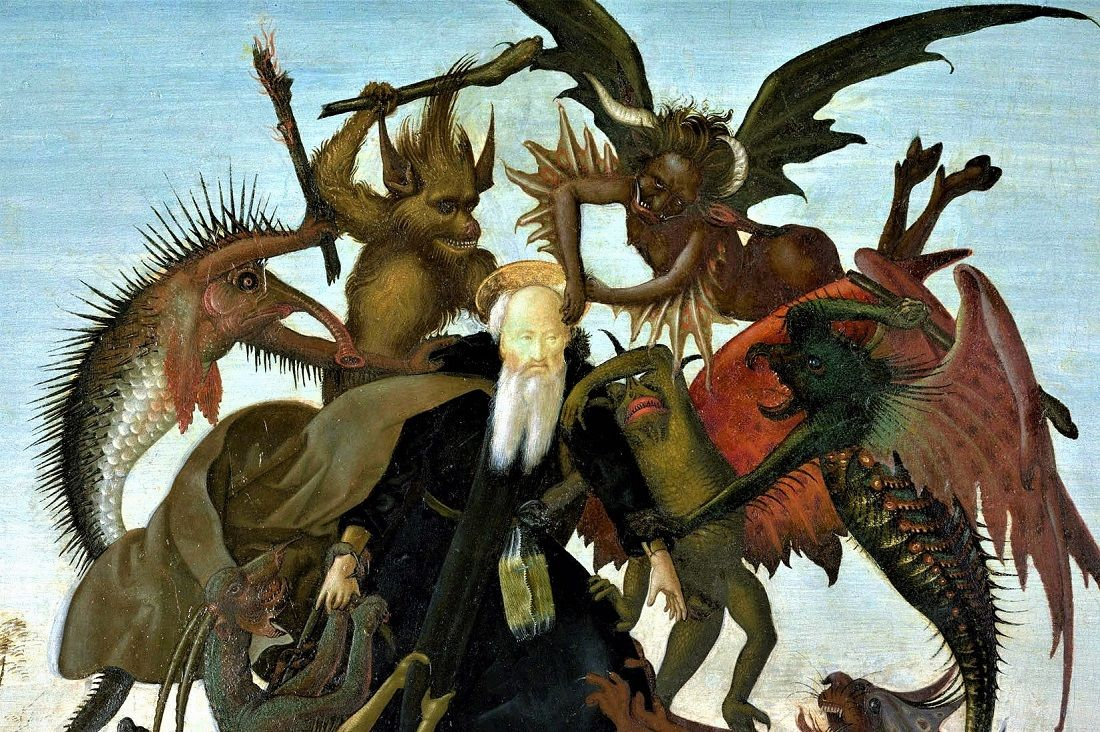 The Torment Of Saint Anthony Michelangelo