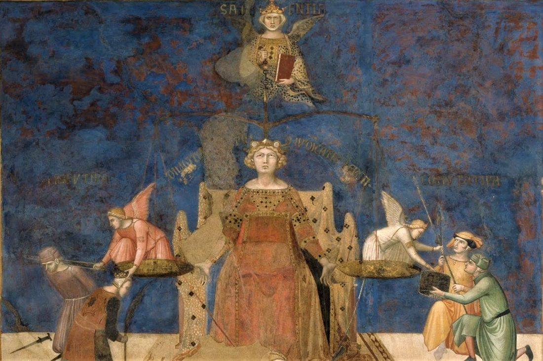 Allegory Of Good Government Lorenzetti