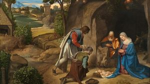 1466px Giorgione Adoration Of The Shepherds National Gallery Of Art