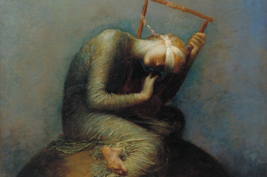 Assistants And George Frederic Watts Hope Google Art Project