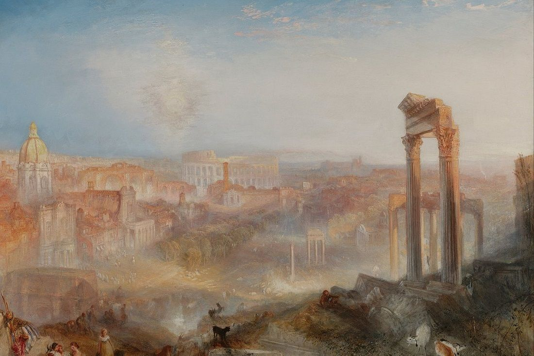 1280px Joseph Mallord William Turner British Modern Rome Campo Vaccino Google Art Project 1