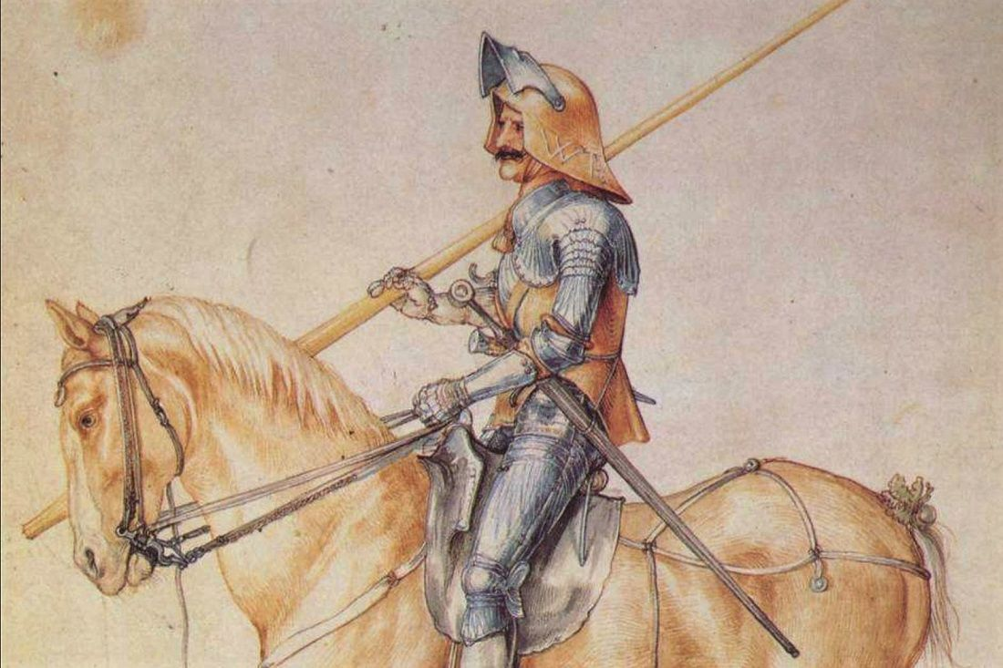 Study Of A Knight Durer