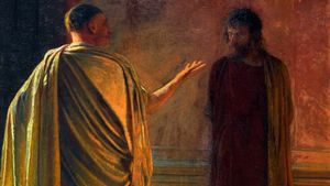 Nicholas Ge Christ Before Pilate
