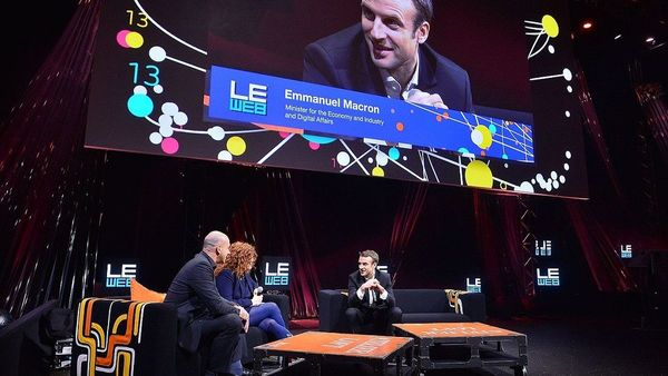 Leweb 2014 Conference Leweb Trends In Conversation With Emmanuel Macron French Minister For Economy Industry And Digital Affairs Pullman Stage 15970860036