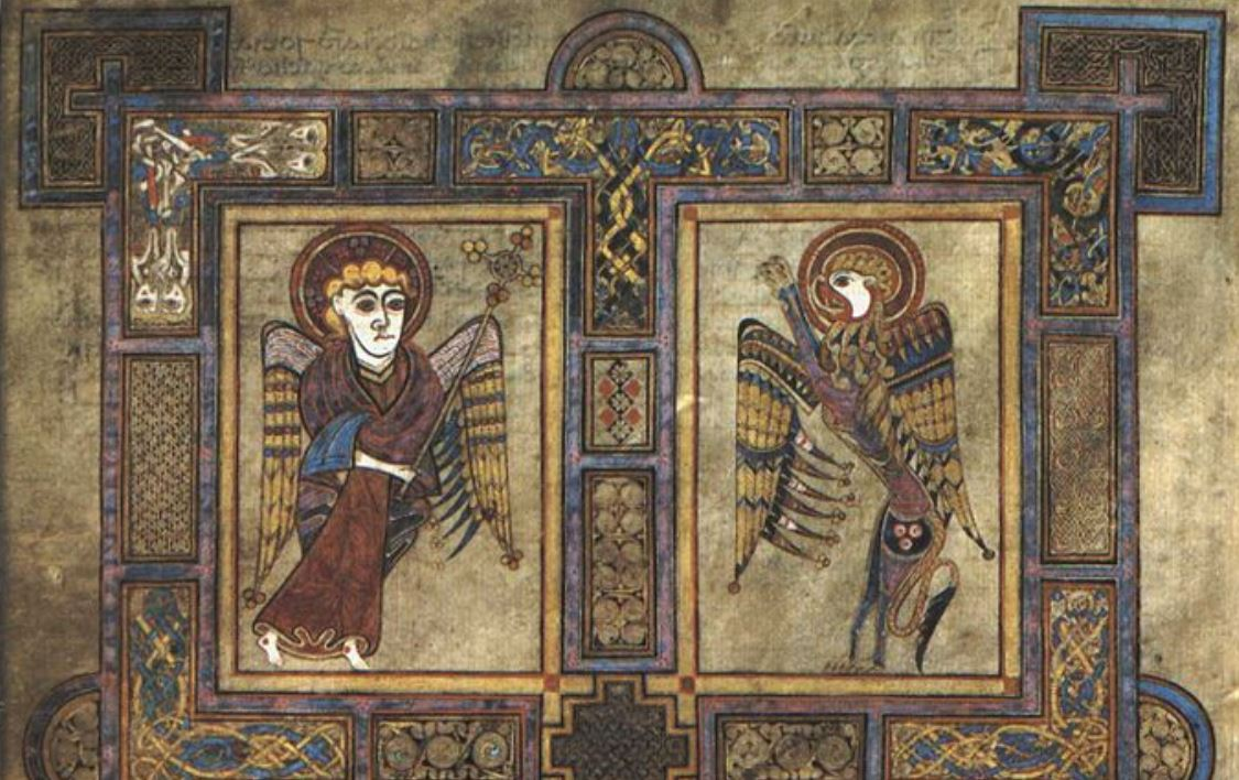 Book Of Kells Evangelist John