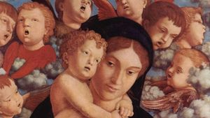Virgin Mary Mantegna