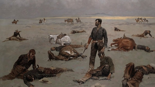 1280px What An Unbranded Cow Has Cost By Frederic Remington 1895