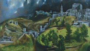 El Greco View Of Toledo Google Art Project
