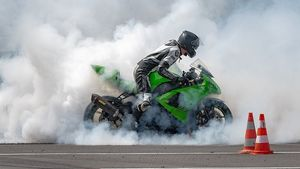 1280px Action Day Burnout Kawasaki Zx 10r 3644