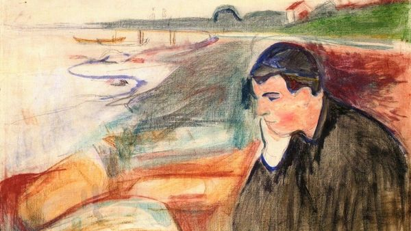 Edvard Munch Evening