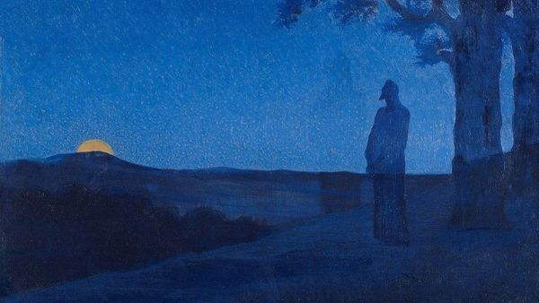 Alphonse Osbert La Solitude Du Christ