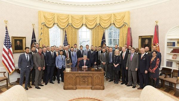 1280px 2017 World Series Champion Houston Astros Visit White House