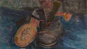 Vincent Van Gogh A Pair Of Boots 1887