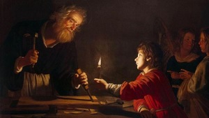 Gerrit Van Honthorst Childhood Of Christ Wga11656
