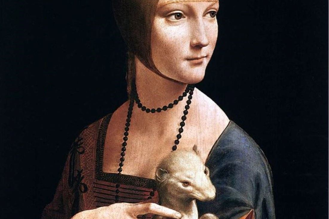 Lady With An Ermine Da Vinci