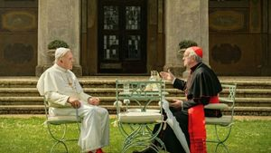 The Two Popes Poster Movie