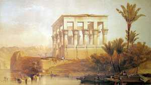 1280px David Roberts Hypaethral Temple Philae Middle East