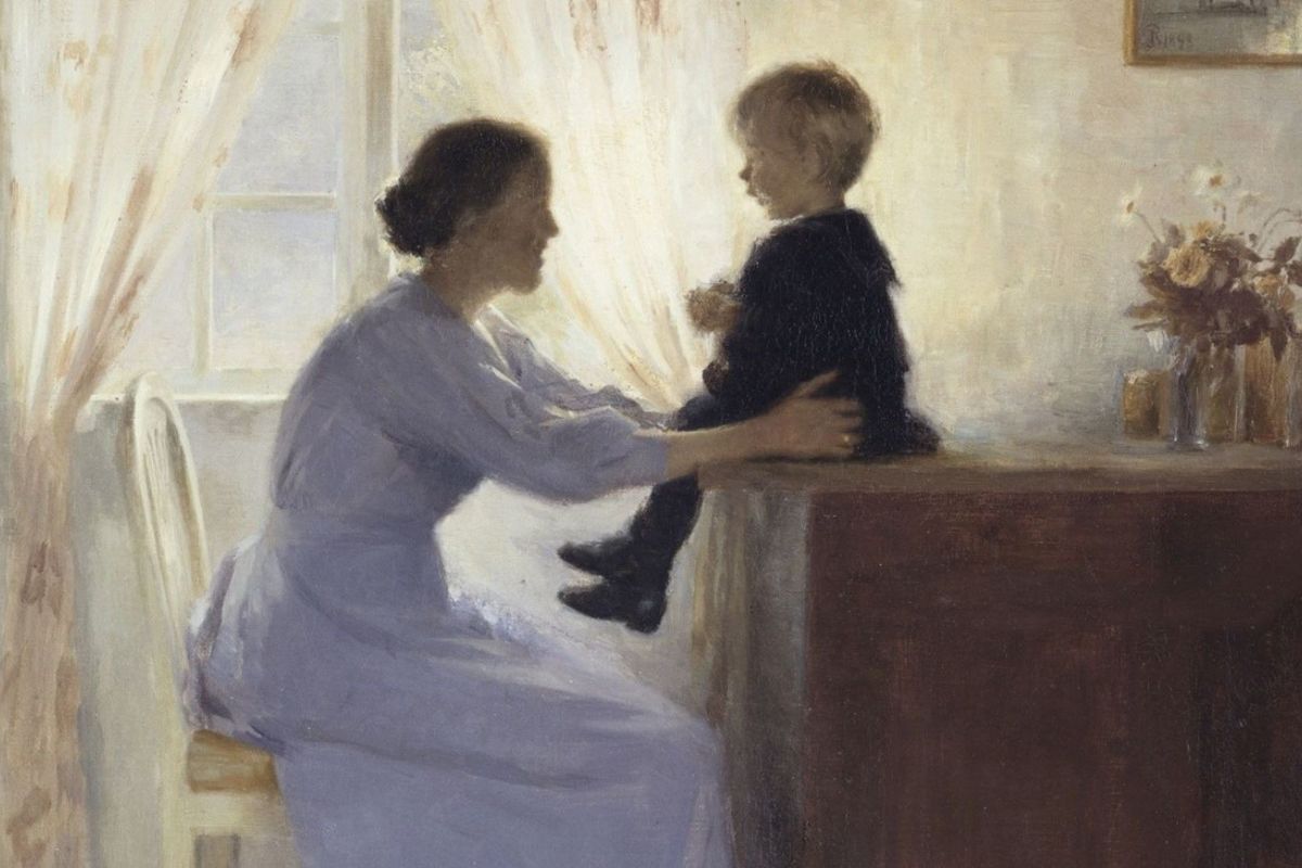 Peter Ilsted Mother And Child