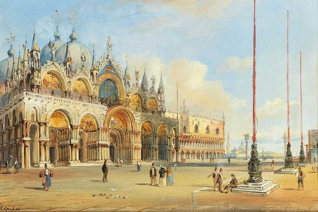 Carlo Grubacs Venice The Basilica Of Saint Mark