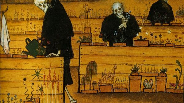 1100 Hugo Simberg Garden Of Death