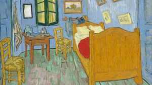 1100 Vincent Van Gogh The Bedroom Google Art Project