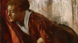 1100 Edgar Degas Melancholy Google Art Project