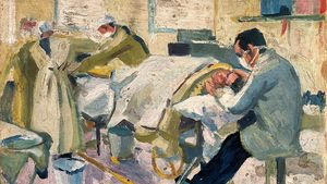 11000 World War I An Operating Theatre In A Hospital Ship