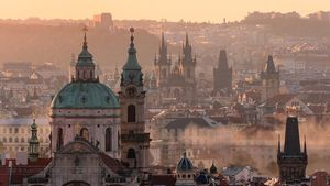 1100 View Of Prague