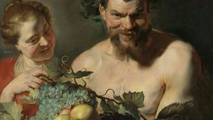 1100 Rubens Satyr And Girl