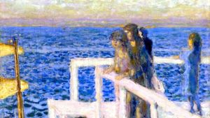 1100 Pierre Bonnard The Jetty At Cannes