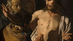 1100px Matthias Stom Incredulity Of St Thomas 1649