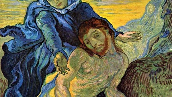 1500 Pieta After Delacroix 1889 Van Gogh