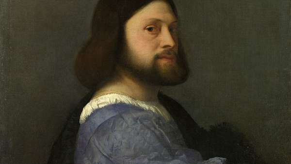 1500px Titian Portrait Of A Man With A Quilted Sleeve
