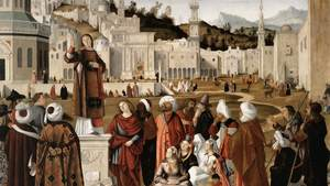 Vittore Carpaccio Sermon Of St Stephen