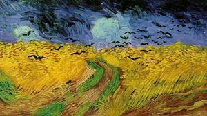 1500px Vincent Van Gogh 1853 1890 Wheat Field With Crows 1890