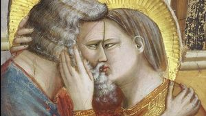 Joachim And Anna Kiss Giotto
