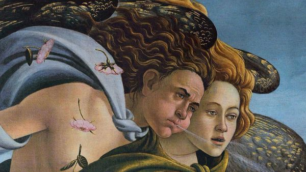 1500 Botticelli Birth Of Venus